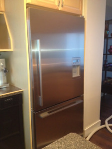 Fisher Paykel 17 CU Ft Counter Depth Fridge with Ice & Water