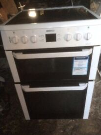 £123.99 Beko ceramic electric cooker+60cm+3 months warranty for £123.99