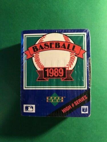 1989 Upper Deck High Number Set Sealed. Includes Cards #701-800
