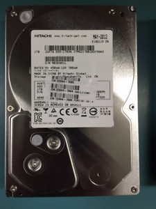 1 TB Hard Drive, 7200RPM, 3.5IN - Various Models/Manufacturers