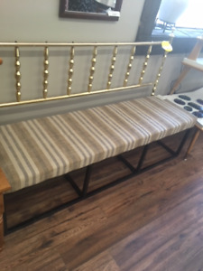 Entryway/End of Bed Bench