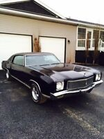 1971 Monte Carlo 4spd with air