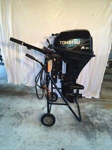 Tohatsu 20Hp Four-Stroke Outboard Motor Wyee Point Lake Macquarie Area Preview