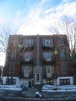 Spacious 2br in Plateau - clean and bright, 2 closed bedroom