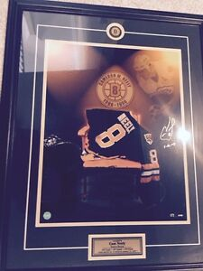 Framed Hockey Collectibles Just in Time for Christmas