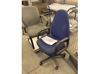 Office Chairs - Various Types - Various colours