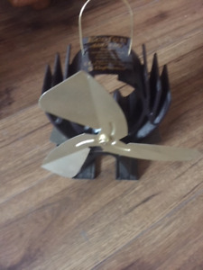 Fan for wood stove