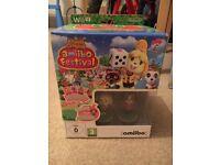 Nintendo Wii U animal crossing amiibo festival figures