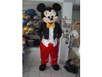Brand new Adult professional delux Micky mouse fancy dress mascot
