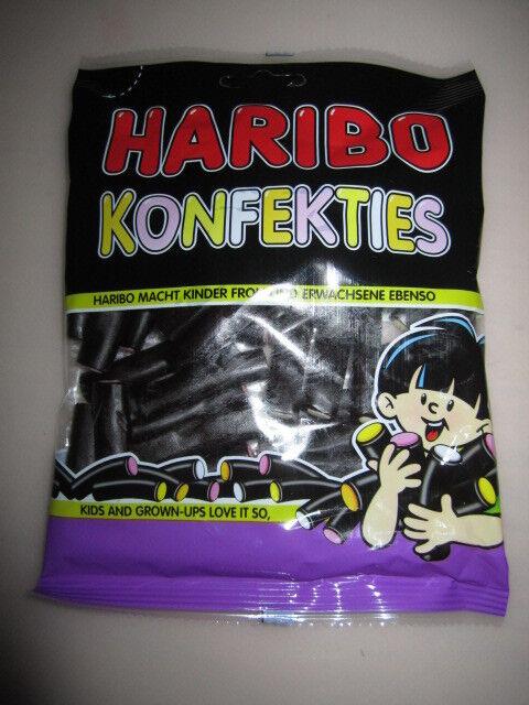 "4 x HARIBO "" Konfekties "" Licorice(  4 Bags x 175g )  New from Germany"