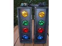 SOUNDLAB AUTO CONTROLLER 4s ( 8 BULB DISCO LIGHTS ) RETRO,NICE BRIGHT EFFECT