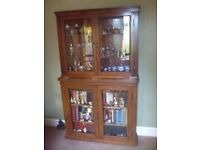 Victorian shop display cabinets