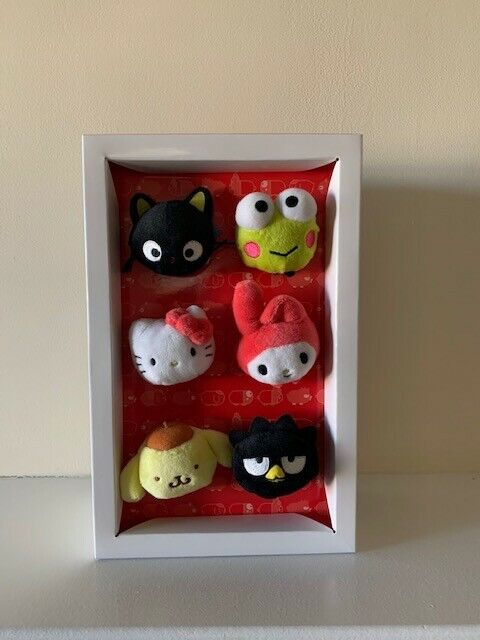 HELLO KITTY AND FRIENDS SANRIO UNIVERSAL STUDIOS STACKABLE CHARACTER PLUSH SET