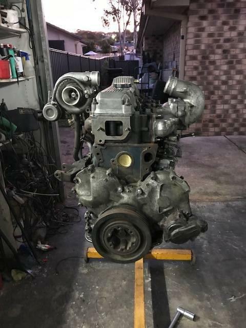 Toyota 14BT Turbo Engine   Engine, Engine Parts & Transmission