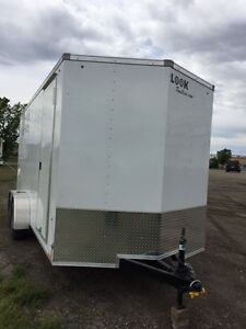 2017 LOOK Element wedge noise enclosed trailer