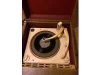 Vintage Valve Record Player