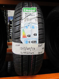 N170 1X 175/65/13 80T MOHAWK M716 NEW TYRES
