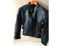 Ladies RK Sports Leather Motorcycle jacket