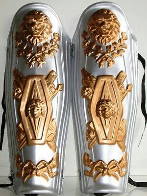 Roman Gladiator Leg Shin Guards Armor Pieces Plastic