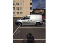 Silver VW CADDY TDI 1.9 for sale. £3450 +VAT