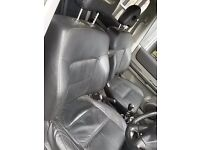 nissan xtrail black leather seats and door cards
