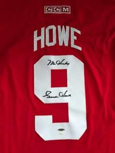 Gordie Howe Authentic Signed Jersey with COA from JSA & Tristar