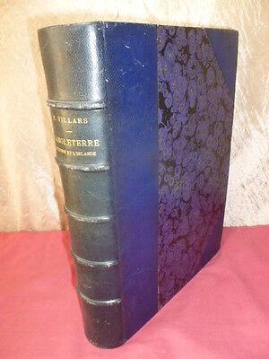 ENGLAND, L'Schottland und IRLAND P.Villars 600 Print Stark Diebstahl in-4