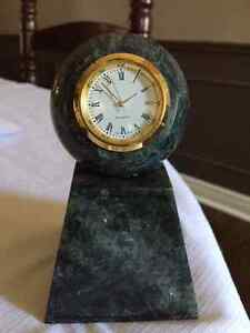 Marble clock award -- Use as Retirement Gift  Best Offer