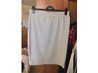 Long patterned skirt size 16