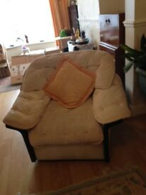 3 Seater Sofa and Armchair FOR SALE