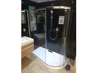 Spacesaver Shower enclosure by Eastbrook Bathrooms