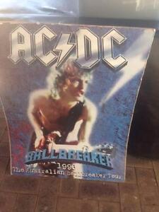 AC/DC Ballbreaker Tour poster Mandurah Mandurah Area Preview