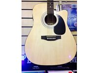 Electro-Acoustic Guitar with bag and tuner BRAND NEW