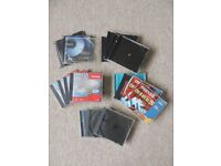 Various CD jewel cases