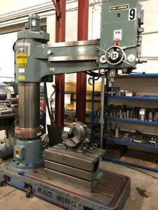 Kao Ming SuperMax 2 Radial Arm Drill Press ***BIDDING IS LIVE*** Canada Preview
