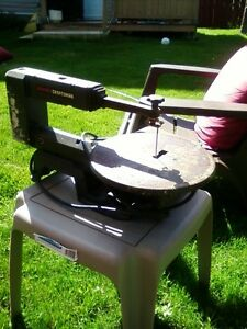 FOR SALE: SEARS/CRAFTSMAN SCROLL SAW!!! NEW LOWER PRICE!!! St. John's Newfoundland image 2
