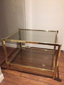 FOR SALE: Glass coffee table