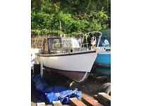 FISHING BOAT SEA ANGLING BOAT CABIN CRUISER VOLVO PENTA INBOARD DIESEL