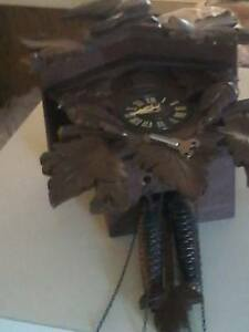 BLACK FOREST COO COO CLOCK  FROM GERMANY