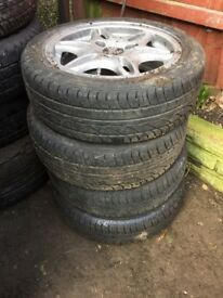 Set of 4 tyres for Sart Car