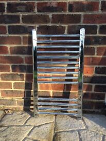 Chrome Towel Radiator for central heating 700H x 400W