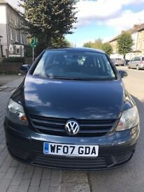 Volkswagen Golf Plus 1.9 TDI 2007 Blue