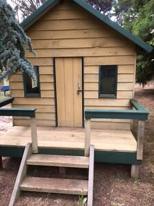 Timber Childrens Cubby House Lara Outer Geelong Preview