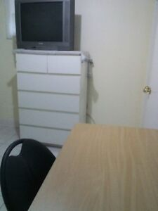 Furnished room immediately at Bathurst & Finch (monthly)