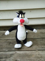 Looney Tunes Sylvester Poseable Plush