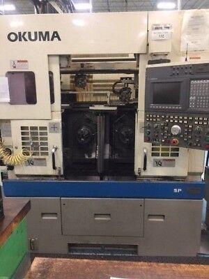 1997 Okuma Lfs 10-2sp Cnc Lathe Osp-u100l Dual Adjacent Spindles Twin Turrets
