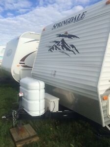 2009 Keystone Springdale 260TBL Bunk Model Like New