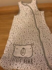 Baby Sleeping Bag 6-12 Months, Tog 2.5 (Excellent Condition)