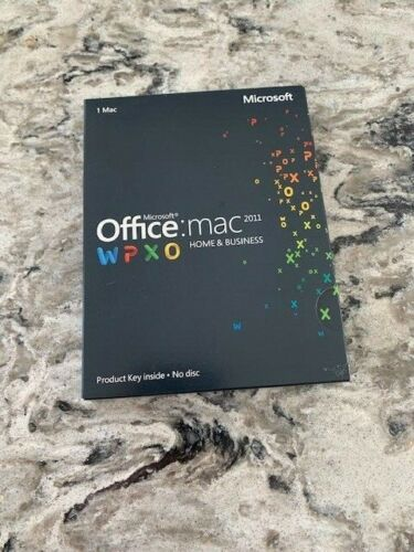 Microsoft Office 2011 Home and Business