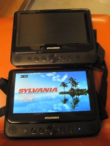 Sylvania Dual Portable DVD Player